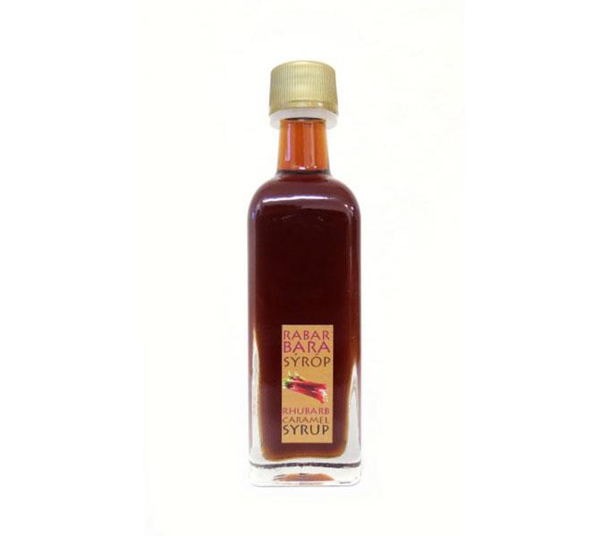 Rabarber-caramelsiroop, 60 ml
