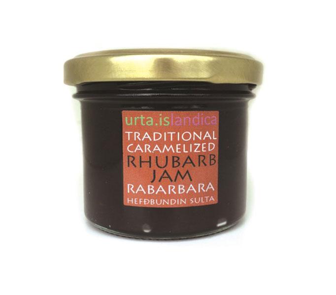 Gekaramelliseerde rabarberjam, naar IJslandse traditie 130 gram