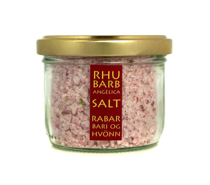 Rabarber-angelicazout, potje 80 gram