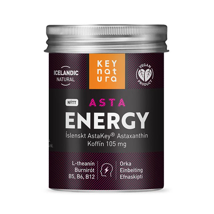 Astaxanthine voor een energie boost