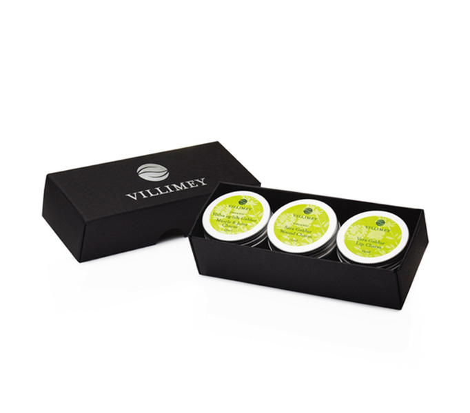 Villimey Travel Gift set 3 x 15 ml