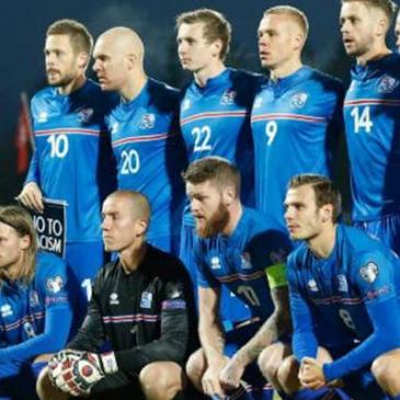 IJsland voor het eerst op het WK voetbal